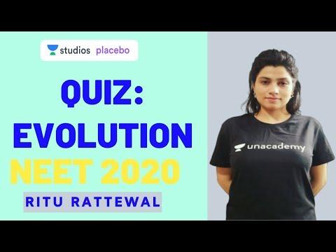 L2: Evolution | 15 Most Important Questions for NEET 2020 | Target NEET 2020 | Ritu Rattewal