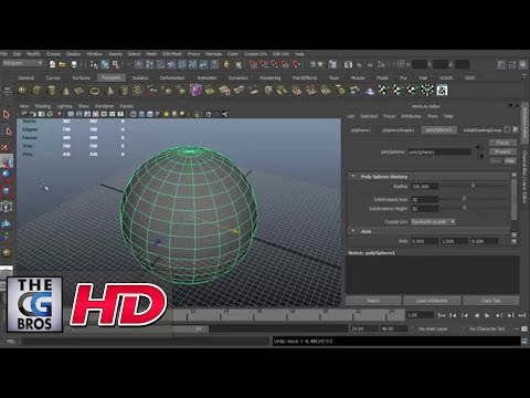 "CGI 3D Tutorial : ""Using Transform Controls in Maya"" – by 3dmotive"