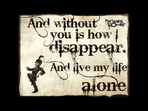 My Chemical Romance - This is How I Disappear Lyrics
