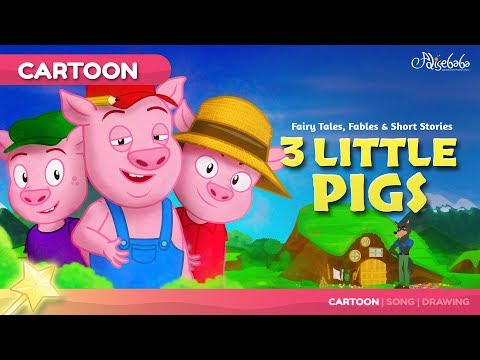 Download Bedtime Stories For Kids - Episode 21: Three Little Pigs (3 Little Pigs) HD Mp4 3GP Video and MP3