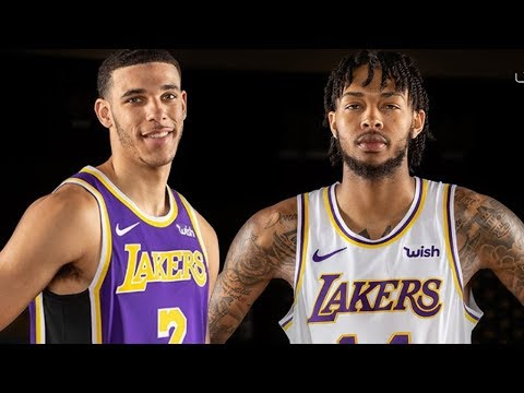 84da00749c3 Lakers Fans Find ONE THING Wrong With NEW Jersey s! Duration  3.37. The  Fumble