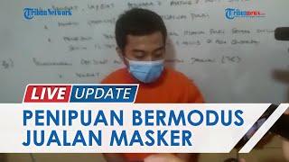 Tipu Korban Rp305 Juta Seusai Mengaku Pegawai Honorer BPK Jakpus, Penipu Modus Jual Masker Ditangkap