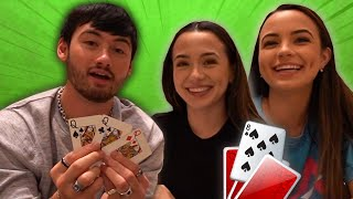 noah boat does more magic tricks for the merrell twins! 🔮