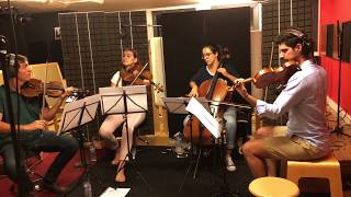 Pip A Short Animated Film Music Strings Session