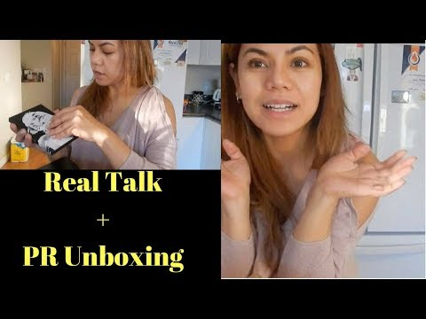 Real Talk PR Unboxing Filipina in Canada Vlog ELLAsDaily
