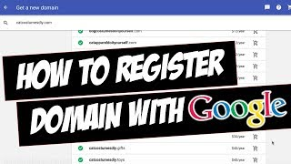How to Register Domain with Google Domains