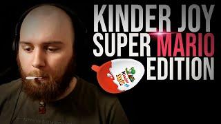 Es gibt Kinder Joy mit Super Mario-Spielzeug