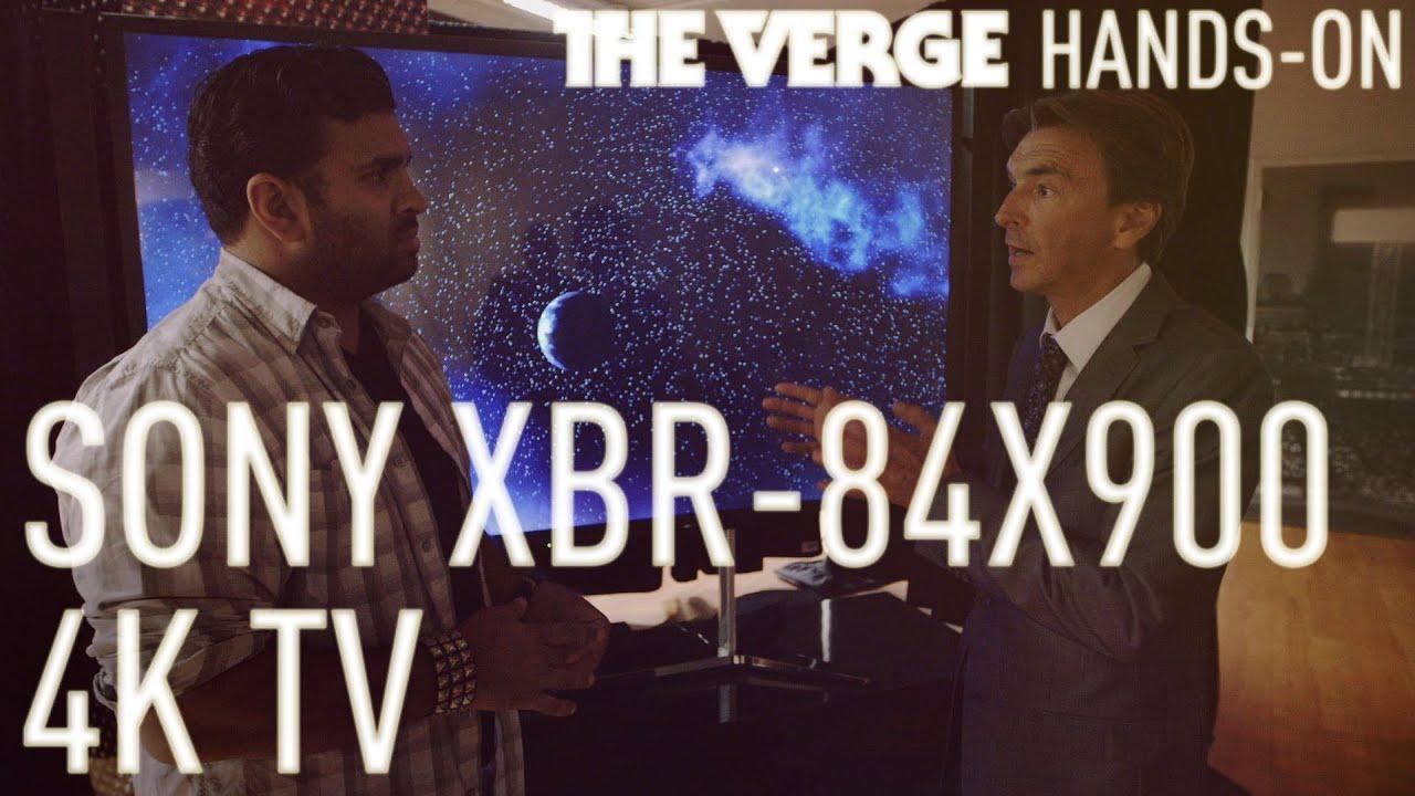 Sony XBR-84X900 4K TV hands-on thumbnail