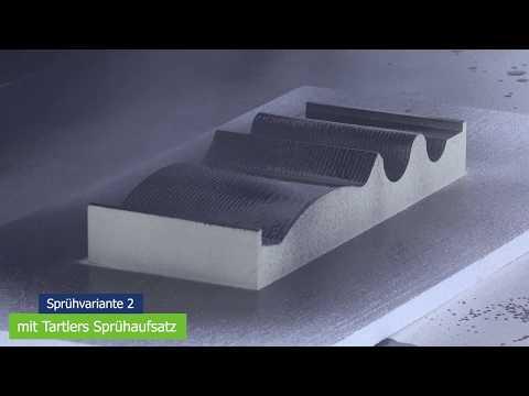 Tartler GmbH | MDM 6 | Anwendungsbeispiel Sprühen