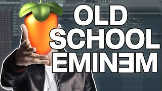 SO QUIRKY!!! Making An Old School Eminem Beat On FL Studio 12! (How to make an Eminem Beat)