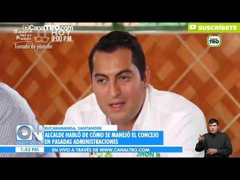 Polemica por denuncia del Alcalde de Bucaramanga