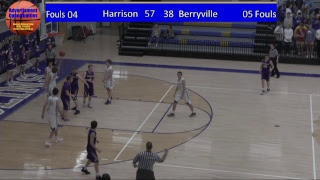 Harrison Goblin Basketball vs Berryville