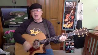 2187  - Help Me Girl -  Eric Burdon cover  - Vocal & acoustic guitar & chords