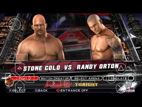 Download Stonecold Vs Randy Ortan wwe2k11 HD Mp4 3GP Video and MP3