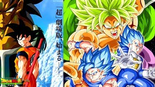 LIVE SPECIAL FILM DRAGON BALL SUPER: BROLY SPOILERS AVEC SUSSUCRE ! (DBS - REDIFF)