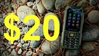 Мобильный телефон VKWorld Stone V3s Green от компании Cthp - видео 2