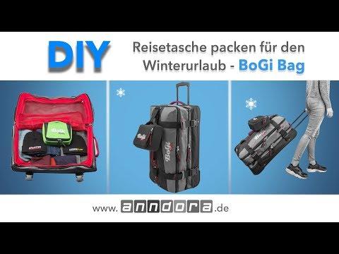 DIY: BoGi Bag Reisetasche packen für den Winterurlaub