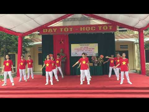 Múa: Những trái tim Việt Nam - Lớp 9A3 trường THCS Xuân Khanh
