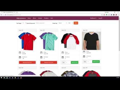 ASP.NET MVC E-commerce by Carlo Fontanos (Demo)