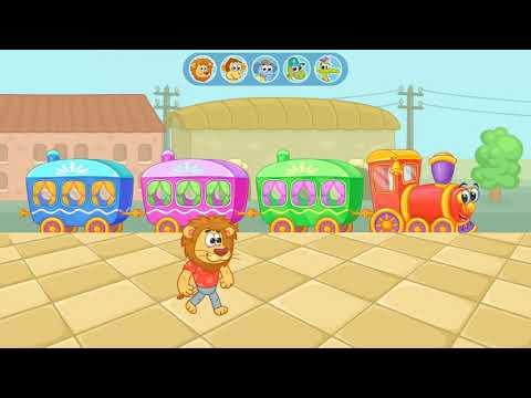 Game Anak Kereta Api | Railway Station Train | Yovo Games