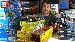 They Almost Couldn't Fit... LEGO Summer 2017 Sets Are HERE!!!