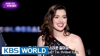 Hollywood Interview with Anne Hathaway [Entertainment Weekly / 2017.04.10]