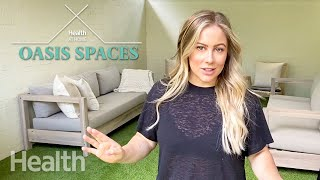 Shawn Johnson East Gives a Tour of Her Favorite Space in the House | Oasis Space | Health