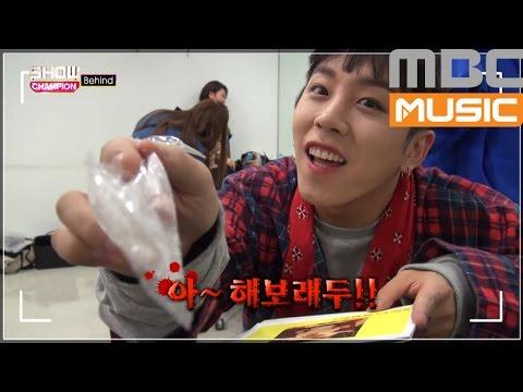 (Showchampion behind EP.3) Block B Taeil, Ukwon boy friend photo