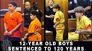 10 KIDS SERVING LIFE IN PRISON | Compilation