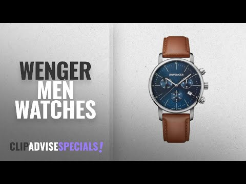 10 Best Selling Wenger Men Watches [2018 ]: WENGER Unisex Watch 01.1743.104
