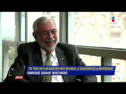 Enrique Graue habla del futuro y seguridad de la UNAM | De Pisa y Corre