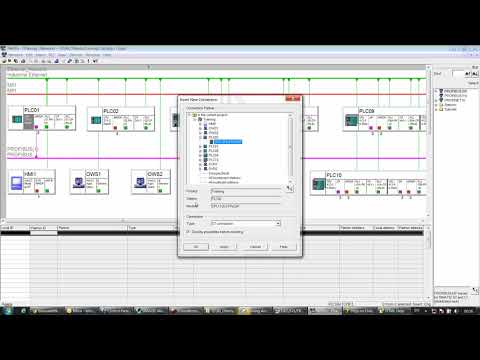 SIEMENS S7 300 PLC and SIMATIC WinCC SCADA interfacing - смотреть