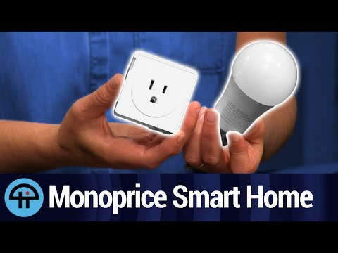 Monoprice Smart LED Bulb and Smart Plug Review