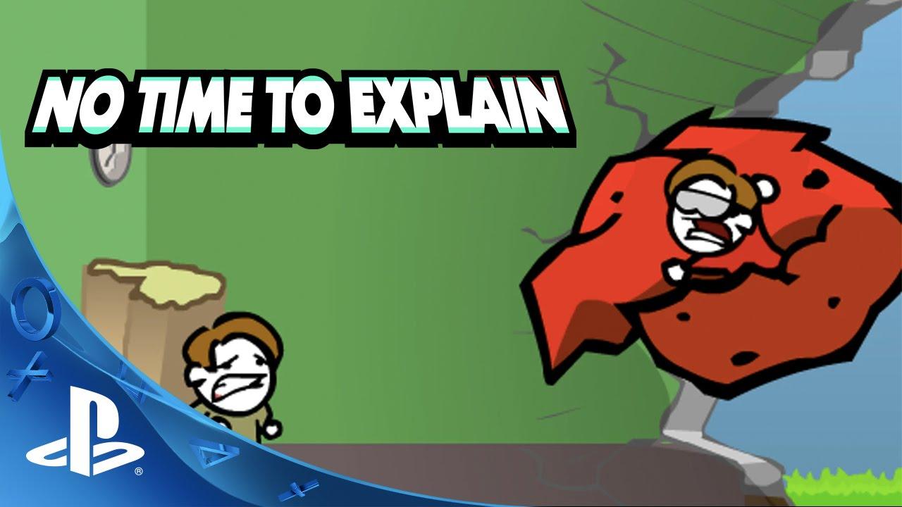 Il platform 2D sui viaggi nel tempo No Time To Explain debutterà su PS4 la prossima settimana