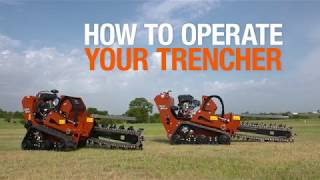 Trenching With the Ditch Witch® C12X and C24X