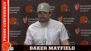 Baker Mayfield Postgame Press Conference vs. Buccaneers | Cleveland Browns