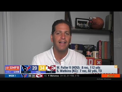 Good Morning Football | Peter Schrager reacts to Chiefs def. Texans 34-20, Patrick Mahomes 3 TD