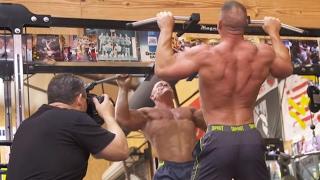 Go behind the scenes of John Cena