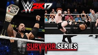 WWE 2K17 - Sheamus Cashes In MITB (Survivor Series 2015 Recreation)