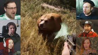 """""""Реакции Летсплейщиков"""" на Галлюцинационных Животных из Far Cry 5"""