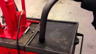 Werkzeug-Tipp #1,5 Rohrbiegegerät 16T -  Erster Test :)