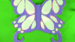 Cómo hacer unas alas de mariposa paso a paso
