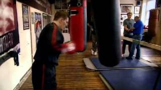 Getting in the ring with Ricky Hatton - Gordon Ramsay