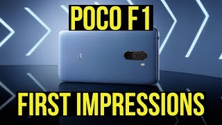 POCO F1 First Impressions & competition analysis