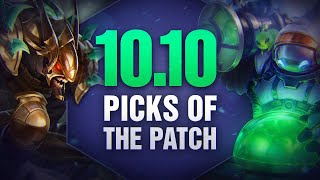 10 New OP Picks and Builds of the Patch in 10.10 for Solo Queue