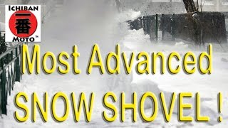 the worlds most advanced snow shovel how to video