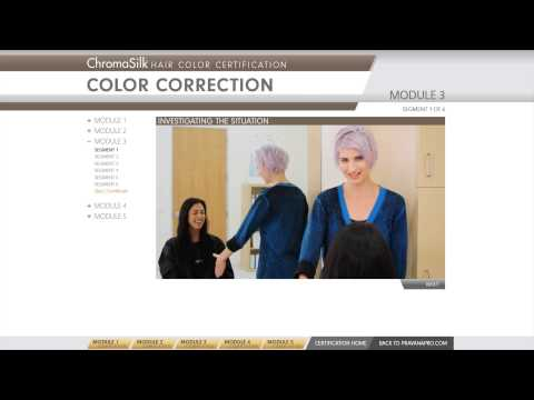 PRAVANA Color Certification Preview - YouTube