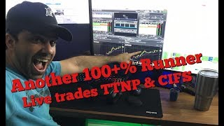 Day Trading Recap With Live Trades CIFS TTNP