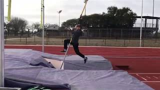 Pole vault Pop up/ 5-Step approach jump