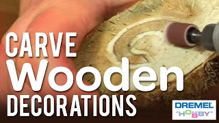 How To Carve Wooden Decorations With The Dremel Stylus  Part Two
